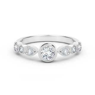 The Forevermark Tribute™ Collection Delicate Stackable Diamond Ring