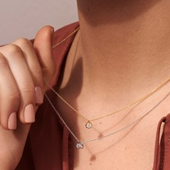 The Forevermark Alchemy™ Collection by Jade Trau Pendant  (Available in four shapes)
