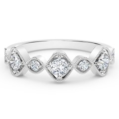The Forevermark Tribute™ Collection Vintage Inspired Stackable Ring